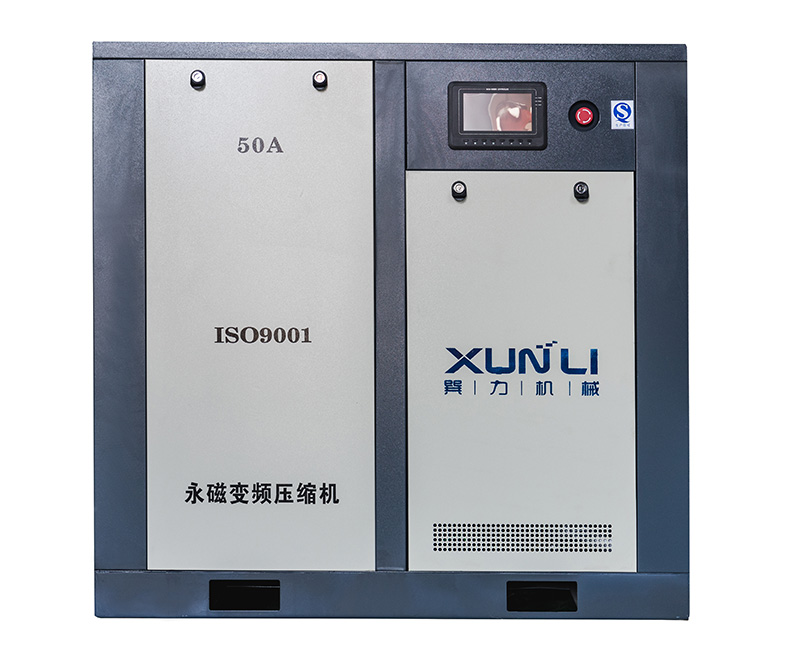 Permanent magnet frequency conversion screw air compressor