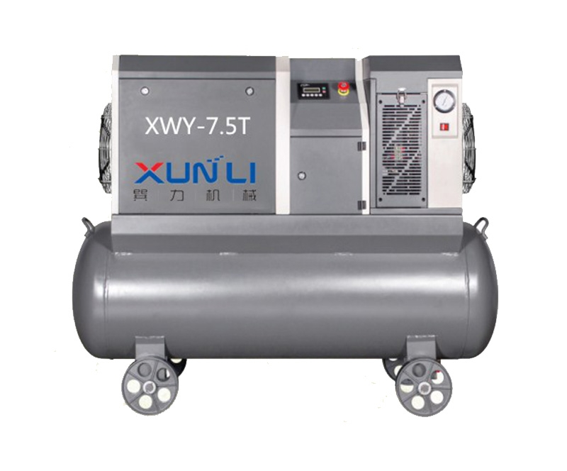 Small power vortex air compressor