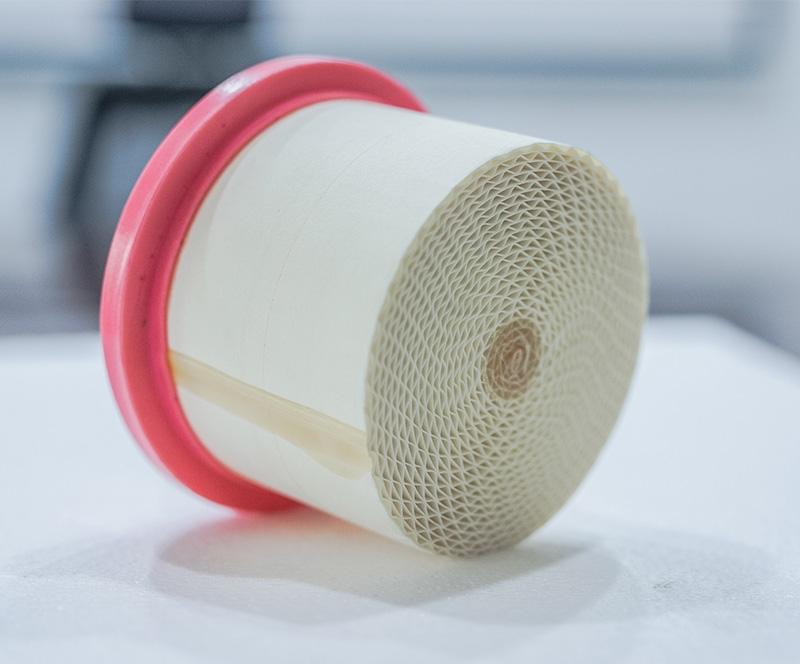 High efficiency honeycomb FW series