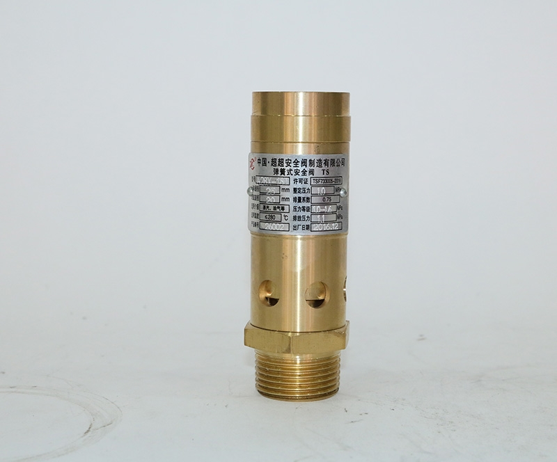Screw relief valve