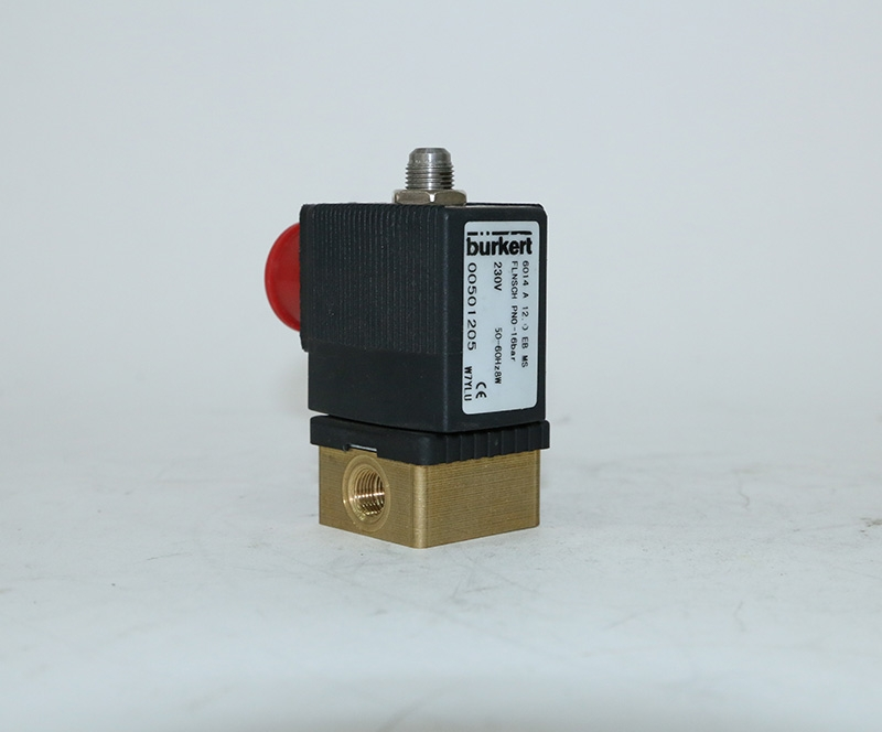 Borde threaded connection solenoid valve