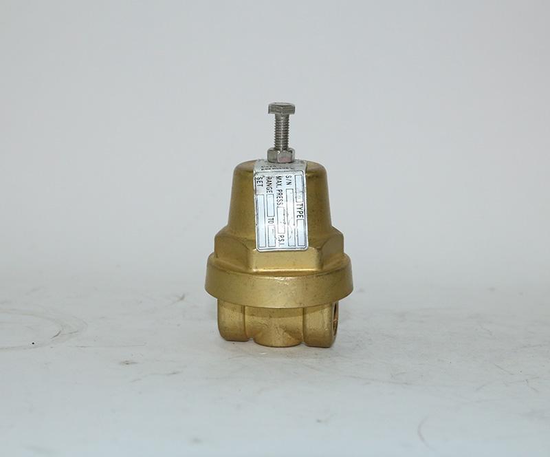 The pressure regulating valve