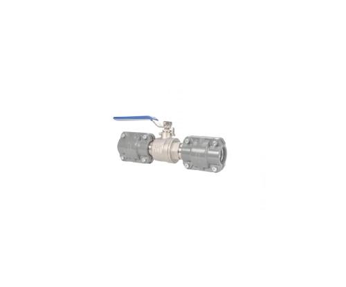 Quick plug valve